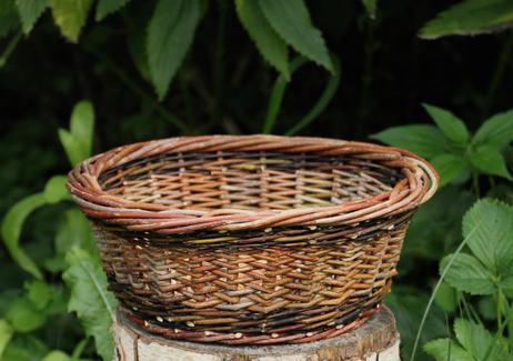 Black Walnut Hand Basket - SOLD OUT -