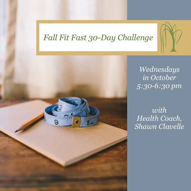 Fall Fit Fast 30-Day Challenge!