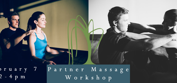 Upcoming Workshop: Partners Massage