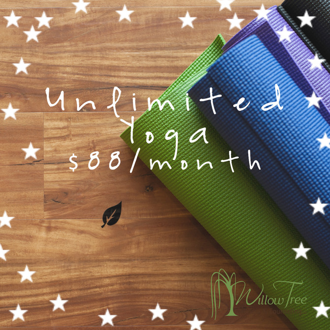Unlimited Yoga!!!