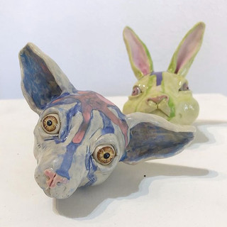 Chihuahua Head, Bunny Head 2020