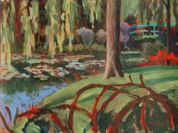 Monet's Willow Tree, Mary Jo Tydlacka