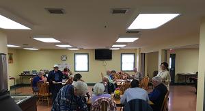 2019 Blue Grass Navigator's visit the Senior Center