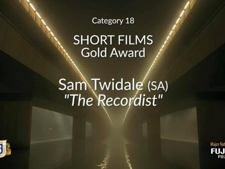 Sam Twidale Wins 'GOLD AWARD' at Australian Cinematographers Society Awards