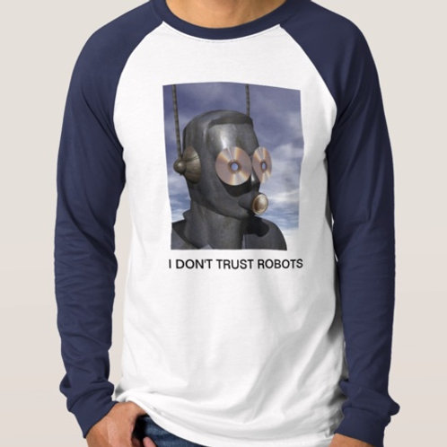 LS Iconic Robot Head T-Shirt