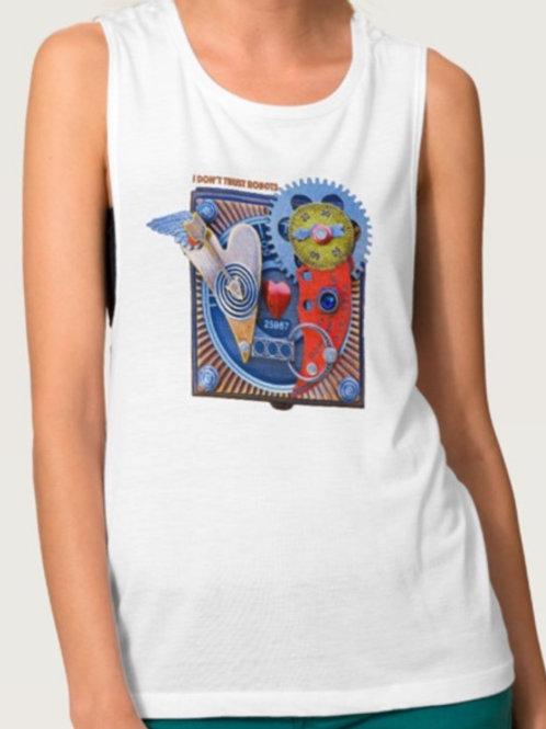 Ladies Sleeveless '25967' T-Shirt