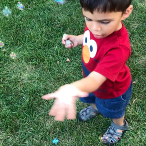 The magic of bubble play