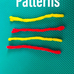 Patterns with pipe cleaners