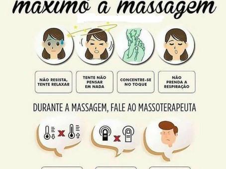 #Diquinhas de como relaxar com a massagem!!!