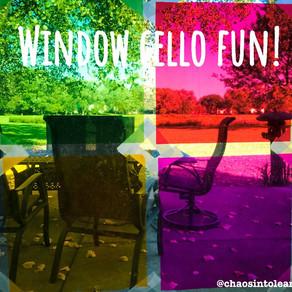 Window cello fun!