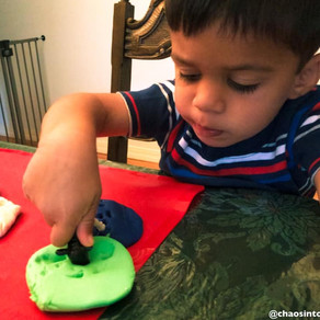 Using play-doh to enhance learning