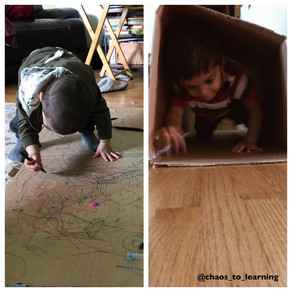 Fun uses for cardboard boxes