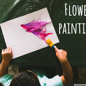Cute flower painting