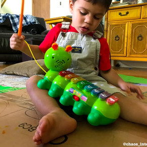 Using toys to develop and master learning skills