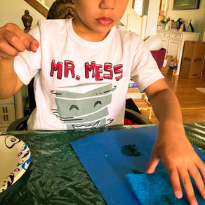 Art-sensory fun!