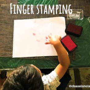 Finger stamping