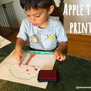 Apple tree prints