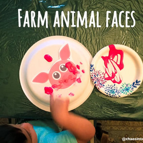 Fun with farm animal faces