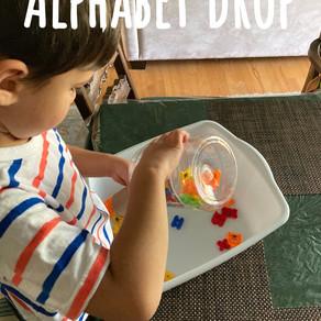 An alphabet stem activity!