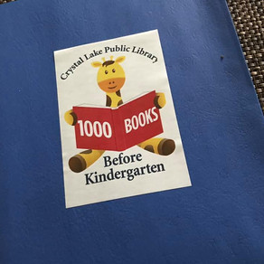 1000 Books before Kindergarten!