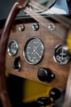Morgan F type dashboard