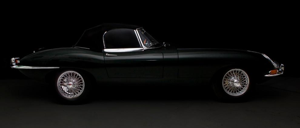 Jaguar Series 1 E type restoration