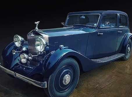 Rolls Royce 20/25 wins best in class at RREC Concours