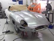 Etype metalwork restoration