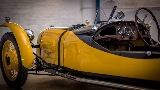 Morgan F type restoration