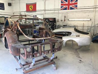 DB2 aluminium body & steel shell