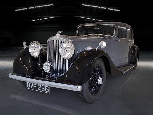 Derby Bentley repaint