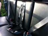 Landrover seat belts