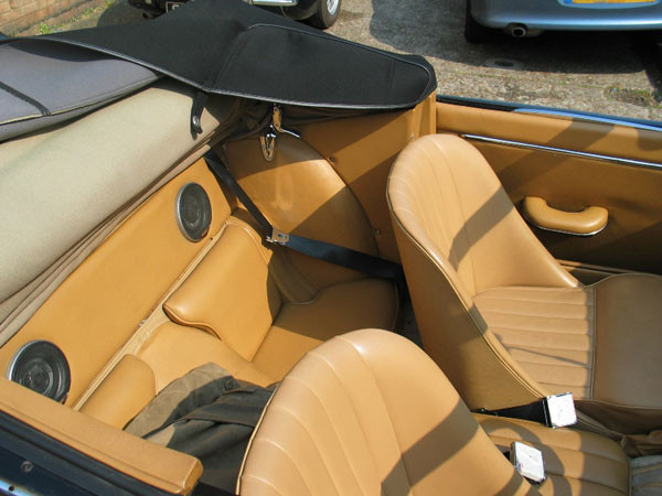 XK150 seat belt install.jpg