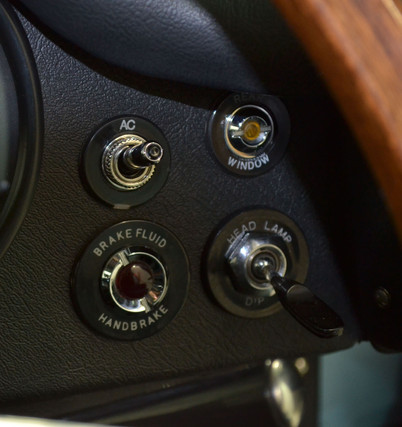Jaguar E type aircon switch