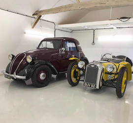 Fiat Topolino & Morgan F type