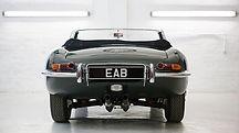 Jaguar E type repaint