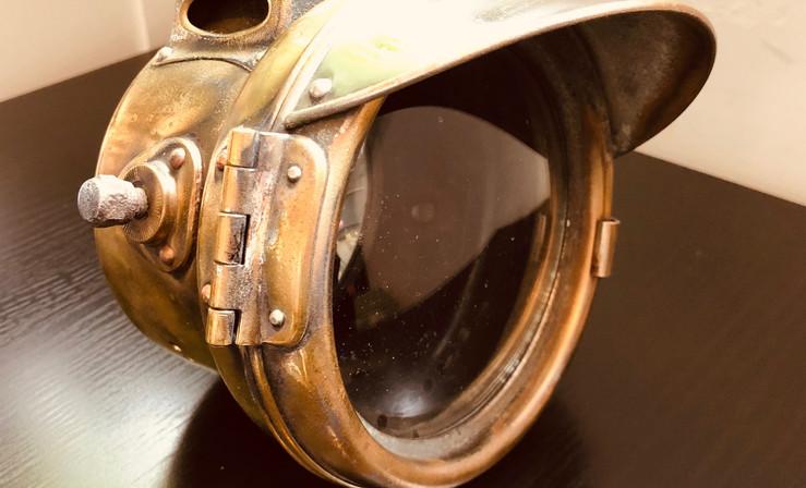 Brass Vintage motorcycle lamp