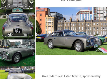 DB2 wins 1st in Class at 2020 London Concours