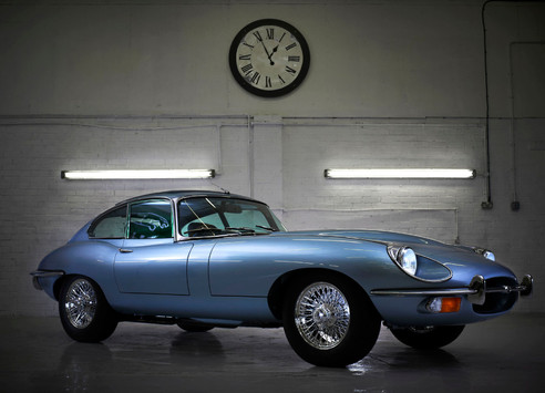 Jaguar Series 2 E type restoration