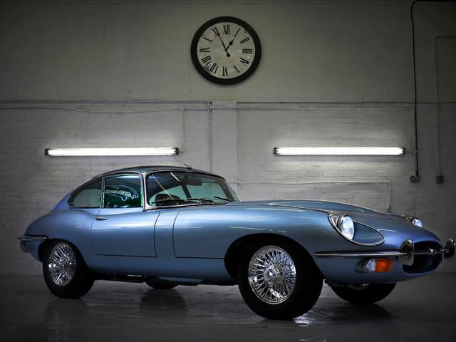 Jaguar E type restoration