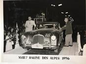 Alpine rallye start