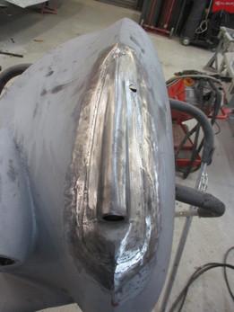 Rolls Royce Silver Dawn metalwork