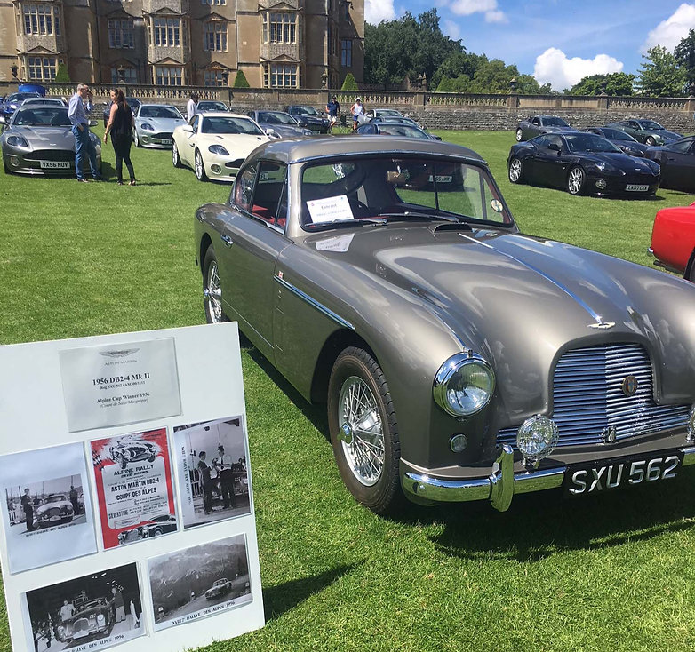DB2 at Aston martin Concours