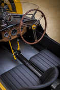 Morgan F type interior