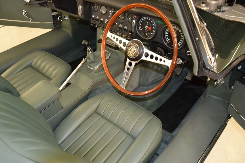 Jaguar Series 1 interior re-trim