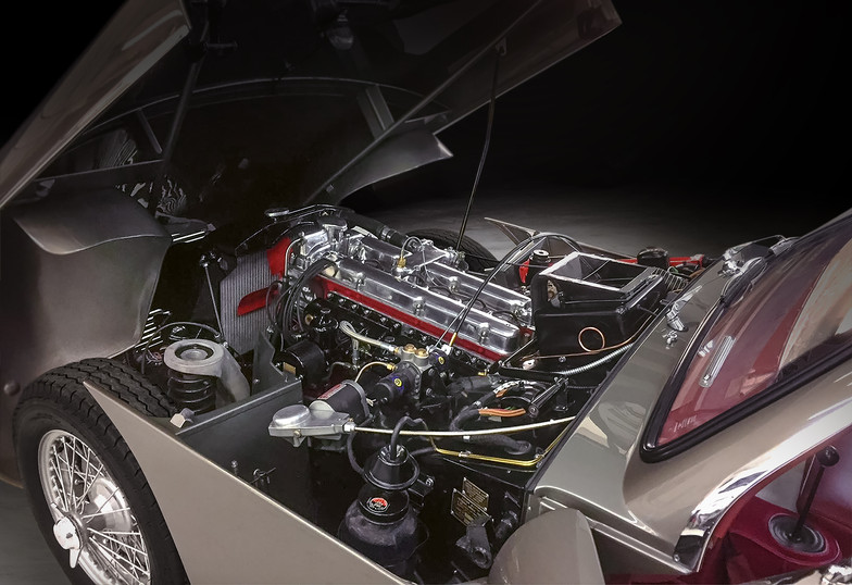 Aston Martin DB2 engine bay