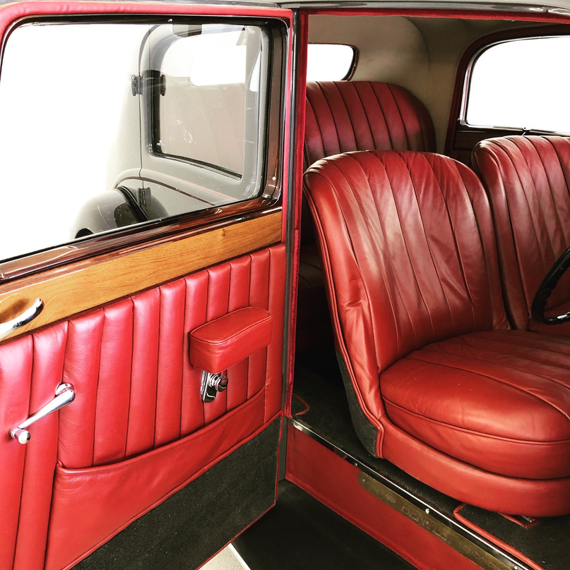 Derby Bentley interior