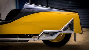 Morgan F type exhaust