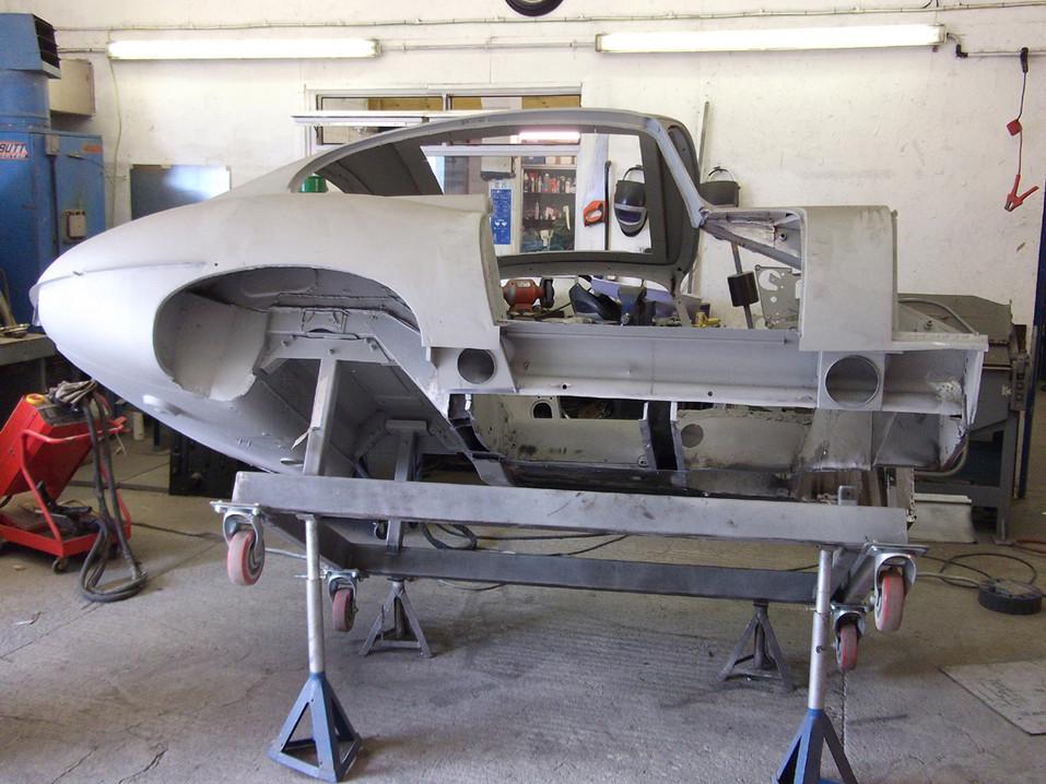 E type restoration