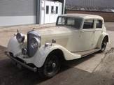Derby Bentley after being stored in a garange for years